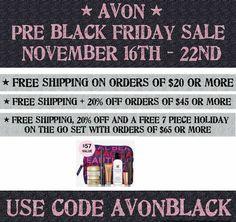 #earlyblackfriday #staywarmandshop #Avon www.youravon.com/mcoddington Pre Black Friday Sales, Early Black Friday, Avon Representative, Coding, Programming