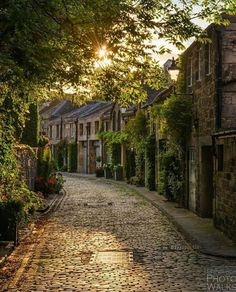 The enchanting path ~ Edinburgh, Scotland