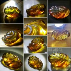 Amber Carvings, Sculptures made in Dominican Republic Astrology Pisces, Blue Amber, Fantasy Inspiration, Decorative Objects, Sculptures, Carving, Gemstones, Dominican Republic, Fossils