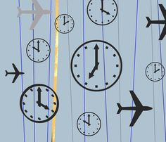 Time Travel fabric by andreart on Spoonflower - custom fabric  #designs #fabrics #spoonflower