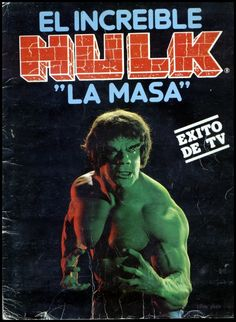 Kiosko del Tiempo (@kioskodeltiempo) | Twitter Incredible Hulk Tv, Thick And Big, Nostalgia, Marvel, Old Tv Shows, King Kong, Picture Show, Trading Cards, Spanish