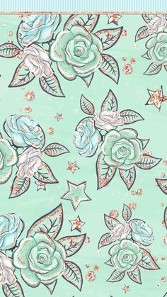 Glam Wallpaper, Rose Gold Wallpaper, Flower Phone Wallpaper, Cute Disney Wallpaper, Glitter Wallpaper, Mint Green Wallpaper Iphone, Iphone Wallpaper Fall, Spring Wallpaper, Apple Wallpaper