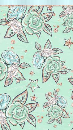 Glam Wallpaper, Rose Gold Wallpaper, Flower Phone Wallpaper, Cute Disney Wallpaper, Glitter Wallpaper, Mint Green Wallpaper Iphone, Iphone Wallpaper Fall, Spring Wallpaper, Apple Wallpaper