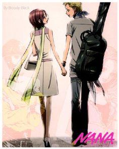 I hope the manga is finished sooner rather than later. I want to know what happens with Nobu and Nana😩 All Anime, Me Me Me Anime, Anime Love, Manga Anime, Anime Art, Anime Stuff, Anime Guys, Yazawa Ai, Nana Manga