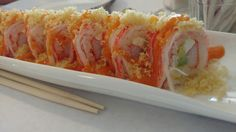 Duke roll, crab, cream cheese, avocado sushi roll