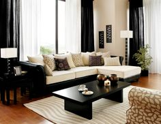 cream black living room ideas how to use neutral colours in your
