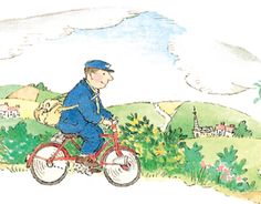 Did your job make the list? Top 20 Happiest Jobs in America for 2014 Be blissful like the Jolly Postman! Love Book, This Book, Children's Book Illustration, Book Illustrations, Vintage Children's Books, Sweet Memories, My Childhood, Childrens Books, Illustrators