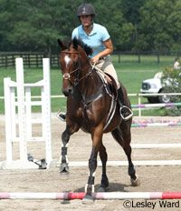 Need to practice this especially with Chance's canter! Horsemanship How-to: Master the Two-Point Position
