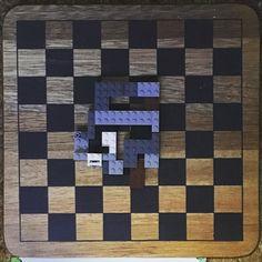 Labirinto de lego e ímã feito pelo Lucas para me desafiar  #lego #imã #criatividade #creativity