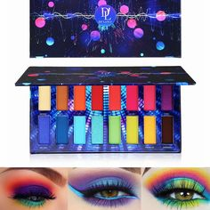 Beauty Essentials Professional Sale 12 Color Eye Shadow Liquid Glitter Eyeshadow Long-lasting Waterproof Make Up Purple Blue Red Green Liquid Metalic Eye Shadow Skillful Manufacture Beauty & Health