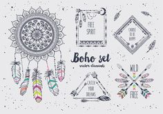 Boho Set by Angelina De Sol on @creativemarket