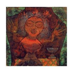 Prophetic Woman, 1923 Giclee Print by Paul Klee at eu.art.com