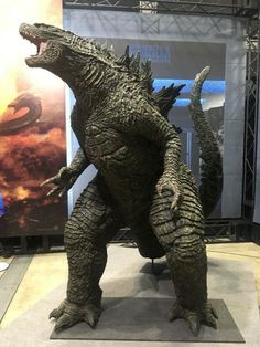 Godzilla: King of the Monsters Film's Monster Design Concepts, Figures Unveiled - News - Anime News Network Godzilla Suit, King Kong Vs Godzilla, Godzilla Tattoo, Godzilla Figures, Godzilla Toys, Godzilla Birthday Party, Free Hd Movies Online, Anime News Network, Tomy