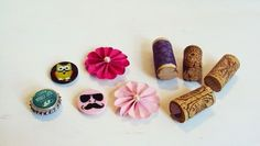 crafts #magnets #flowers