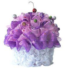 Deco Poly Mesh Cupcake Trendy Tree Blog