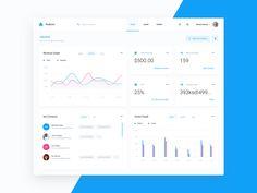 Dasboard UI/UX design on Behance Dashboard Interface, Web Dashboard, Ui Web, Dashboard Design, User Interface Design, Ui Ux Design, Flat Design, Layout Design, Graphic Design