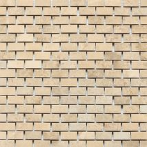 Mediterranean Ivory Brick Joint Polished - Travertine Collection by daltile