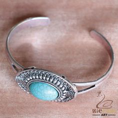 NEW FASHION TURQUOISE GEMSTONE BRACELETANTIQUE SILVER BEAD JEWELRY ZN80 00134 #ZL #Jewelryset