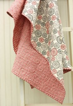 Mama Said Sew Whole Cloth Quilt by CottonBerryQuilts on Etsy, 55$