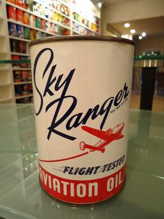 Vintage Motor Oils  #VintageMotorOils  #Vintage  #MotorOil  #SkyRanger  #FlightTested  #AviationOil  #Collectibles  #Kamisco