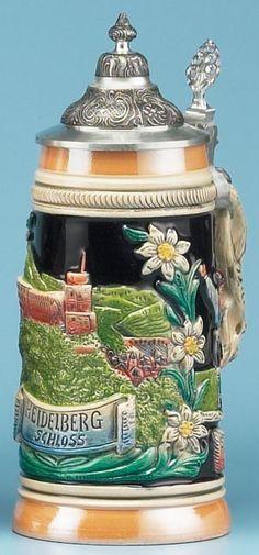 HEIDELBERG STEIN - Authentic Beer Steins from Germany -