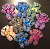 Ravelry: Easy-peasy teddy-bear — crocheted in one piece pattern by Raphaela Blumenbunt