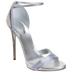 Giuseppe Zanotti Plated Heel Metallic Sandal Sale up to 70% off at Barneyswarehouse.com
