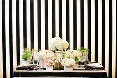 Chic Black and White