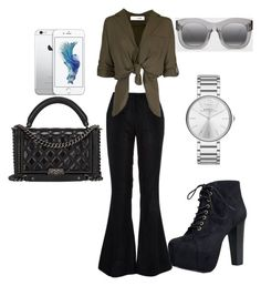 """""""Untitled #6"""" by amirawright on Polyvore featuring River Island, Speed Limit 98, Chanel, Marc by Marc Jacobs and Illesteva"""