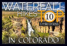 Elk Falls in Colorado's new Staunton State Park will soon open to the public. With this waterfall, the park will feature some of the best new hikes in Colorado.