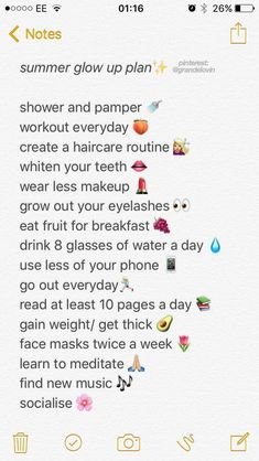 glow up checklist tik tok ~ glow up checklist . glow up . glow up tips . glow up before and after . glow up checklist 2020 . glow up challenge . glow up list . glow up checklist tik tok Beauty Tips For Glowing Skin, Health And Beauty Tips, Beauty Tips For Girls, Back To School Glo Up, Schul Survival Kits, Beauty Routine Schedule, Skincare Routine, The Glow Up, How To Grow Eyelashes