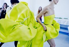 BACKSTAGE: The Jason Wu Spring 2012 Collection at New York Fashion Week