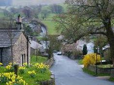 Downham cottages in Lancashire