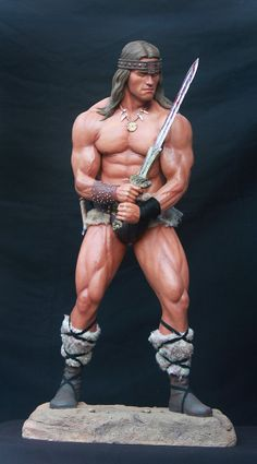 Conan Statue   Conan statue 1:3 scale . Arnold Schwarzenegger