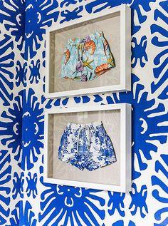 Sue de Chiara Chic und Preppy Home - Wohnaccessoires Of Wallpaper, Pattern Wallpaper, Do It Yourself Design, Buy Art Online, Diy Wall Art, Wall Decor, Room Decor, Art Auction, House Colors