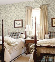 love this guest bedroom style...