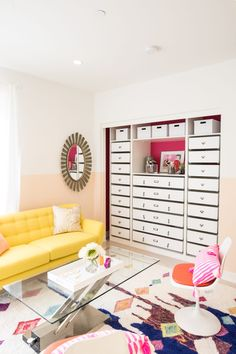 Design and create a closet that fits your specific needs, instead of DIY-ing endless storage solutions! Working with the size and needs of your space, you can customize a brand new closet cheaply! Talk about a win-win.