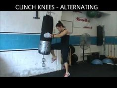 I LOVE heavy bag workouts!! Will save this one for a rainy day. btw, she has great form!