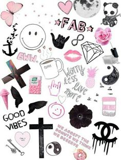 Tumblr collage| Girly ♡♡♡