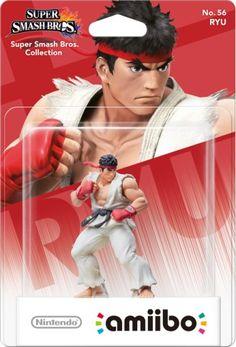 Ryu amiibo Packaging
