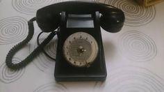 TELEPHONE VINTAGE BAKELITE NOIRE