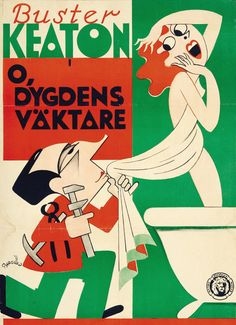 20 Swedish Posters for 1930s Hollywood - 50 Watts