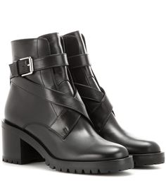 Black Leather Boots, Leather Shoes, Leather Design, Smooth Leather, Leather  Leggings, Shoe Boots, Crossover, Chill, Sole