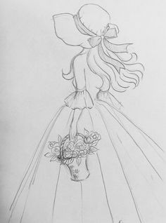 Bonnet fille 4 – – - New Sites Disney Drawings Sketches, Art Drawings Sketches Simple, Girl Drawing Sketches, Girly Drawings, Fashion Illustration Sketches, Pencil Art Drawings, Drawing Faces, Art Illustrations, Drawings For Girls