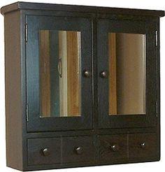 white 2 door mirror cabinet - victoria plumb | main bathroom