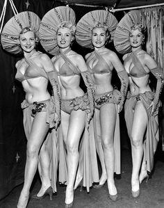 Showgirls 1950's