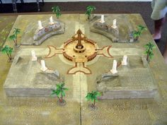 Thematic, tactical, and without totally cluttering the board.  Very clever Warmachine terrain