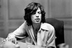 """The Rolling Stones"" в объективе французского фотографа Доминика Тарле."
