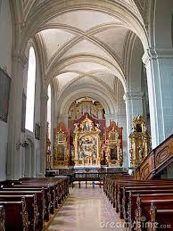 Hofkirche Luzern - Teilansicht von innen