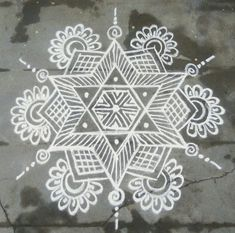 35 Best Mandala Rangoli designs to try - Wedandbeyond Indian Rangoli Designs, Rangoli Designs Latest, Simple Rangoli Designs Images, Rangoli Designs Flower, Rangoli Border Designs, Rangoli Patterns, Rangoli Ideas, Rangoli Designs With Dots, Beautiful Rangoli Designs